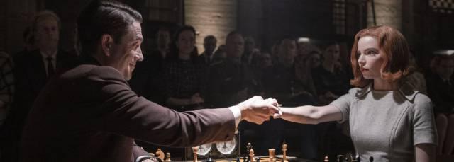 'Gambito de dama' es la miniserie más vista de Netflix, con reproducciones en 62 millones de hogares