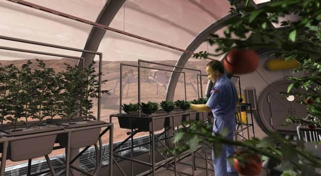 Los agricultores del espacio