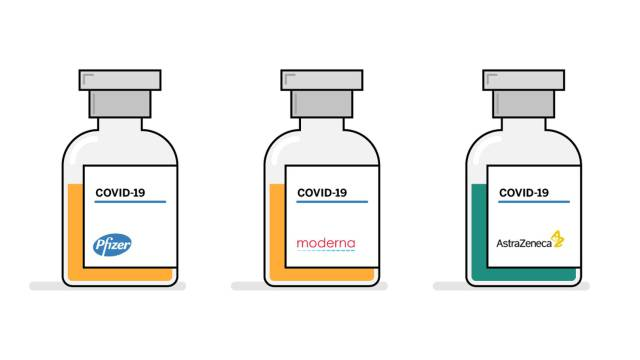 Las enormes diferencias entre las vacunas de Pfizer, Moderna y Oxford