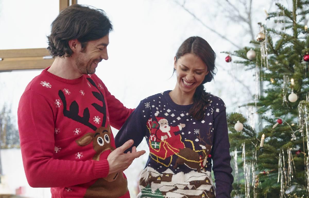 Siete jerséis navideños para toda la familia