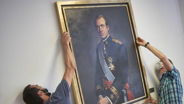 La caída del rey Juan Carlos