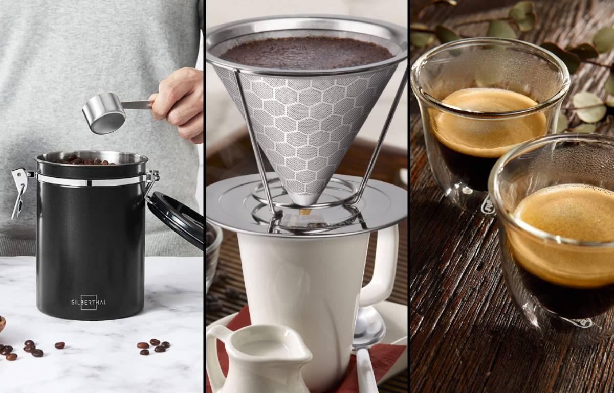 Regalos para amantes del café: un espumador de leche y otros accesorios