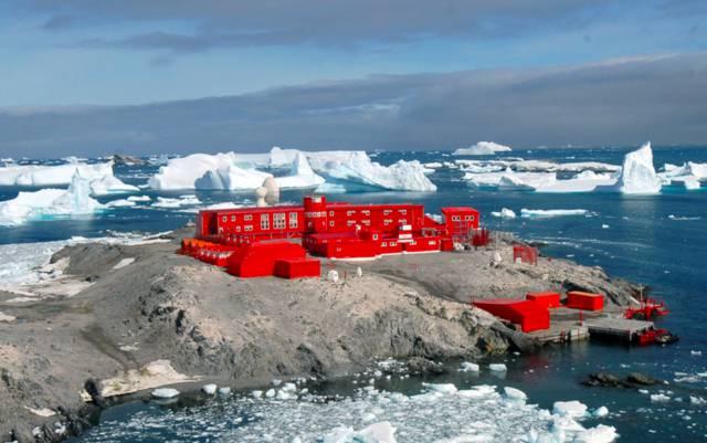 ¿A qué temperatura está el hielo más frío de la Tierra?