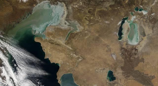 El lago más grande del mundo, camino de la desecación