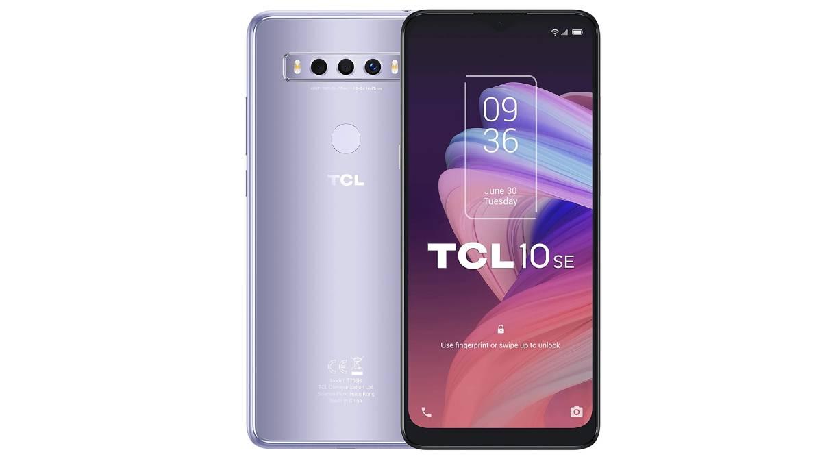 Móvil TCL 10 SE con 128 GB de memoria por 129 €