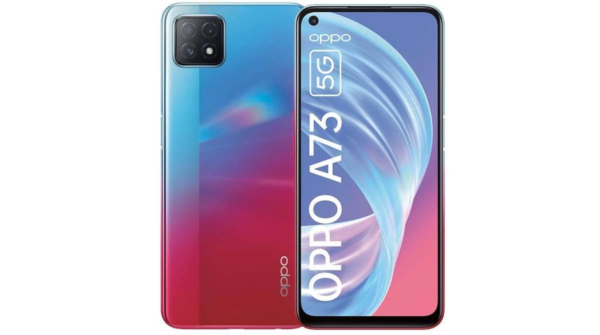 Móvil Oppo A73 5G con 8 GB de RAM por 261,43 €