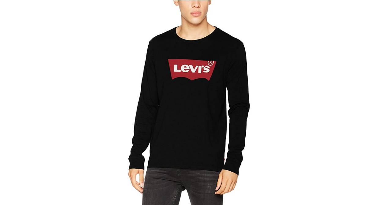 Camiseta de manga larga Levi's para él por 24,99 €