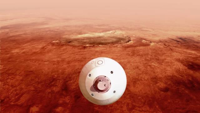 Tres naves asaltan Marte para hacer historia
