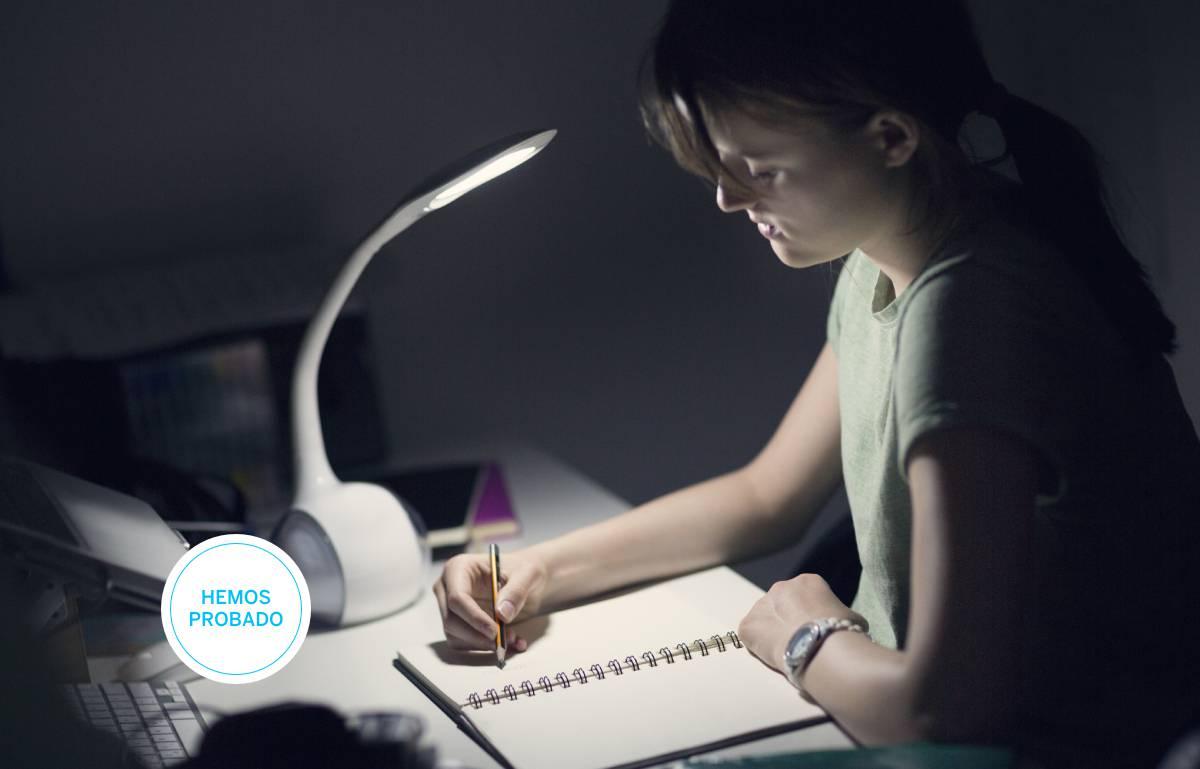 Las mejores lámparas led de escritorio para estudiar o teletrabajar