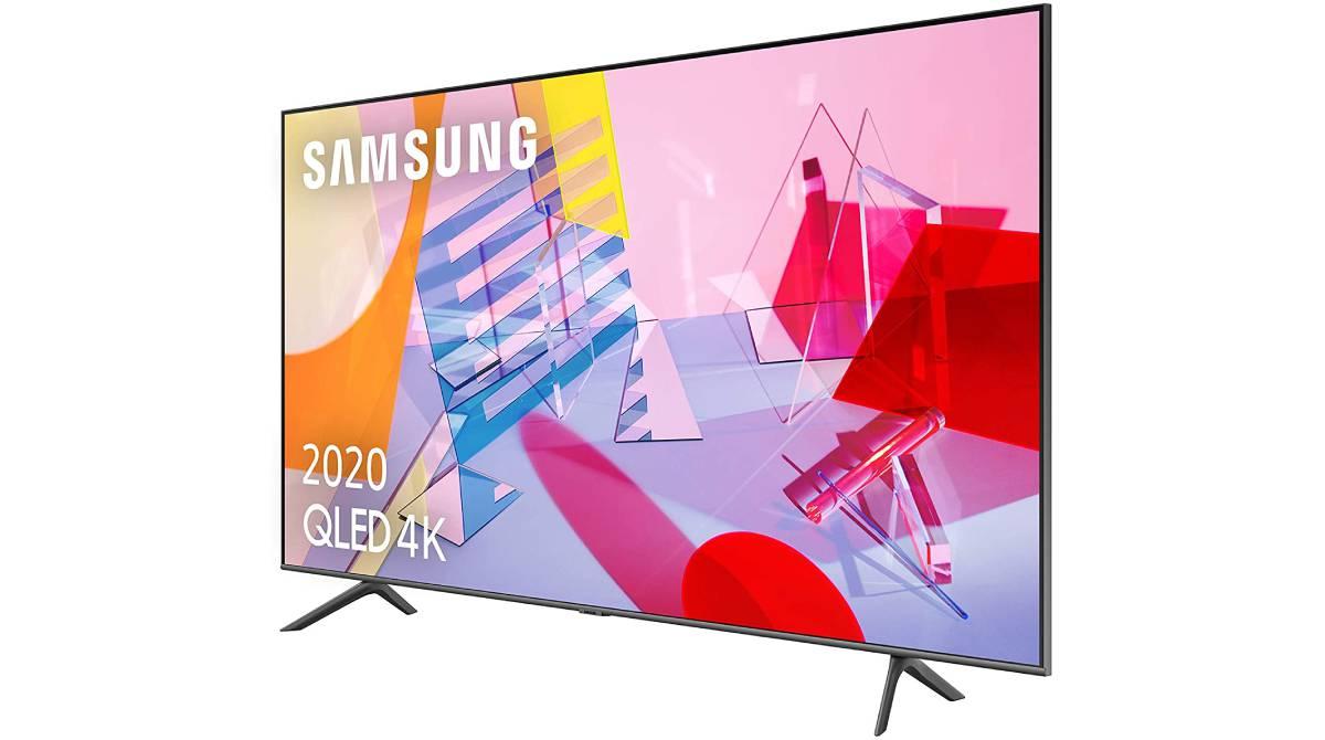 Samsung SMART TV QLED 4K de 43 pulgadas por 539 €