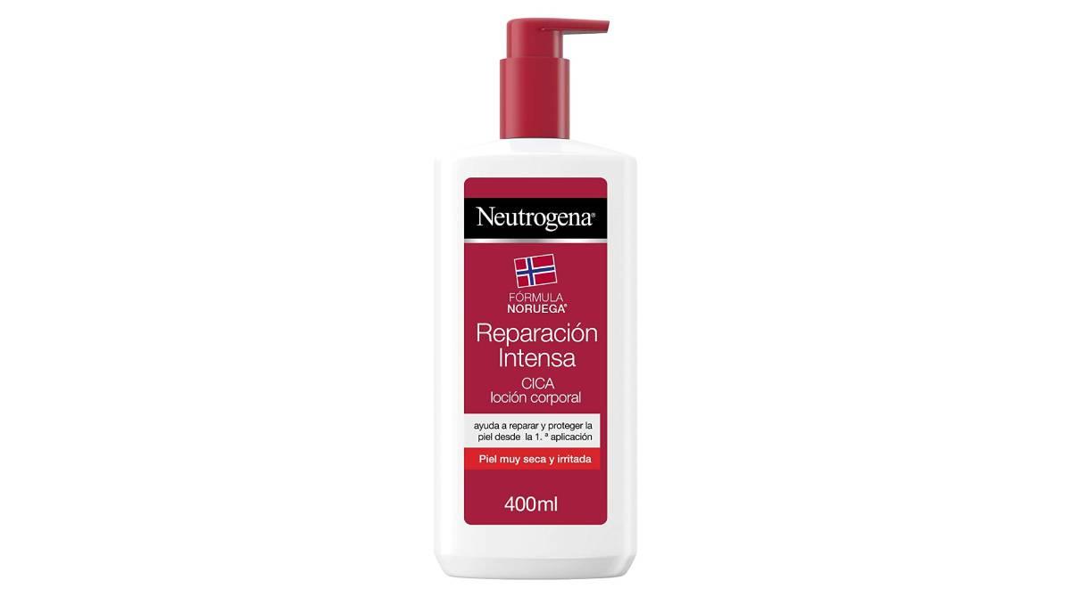 Loción corporal Neutrogena para piel seca por 9,90 €