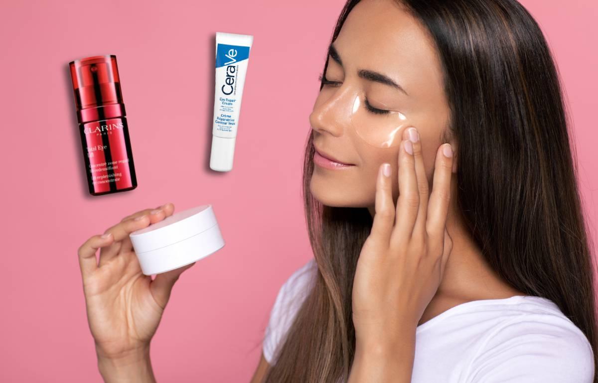 Diez cosméticos para tratar las ojeras, bolsas y párpados caídos