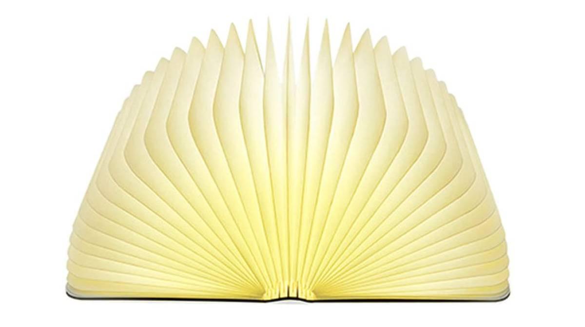 Lámpara plegable en forma de libro por 22,09 €