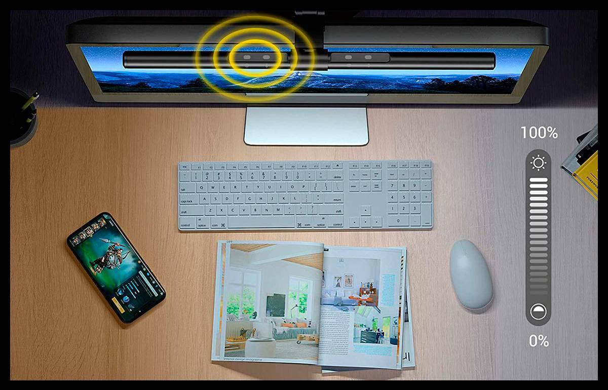 Descanso para los ojos: mi experiencia con la lámpara de monitor led GlobaLink