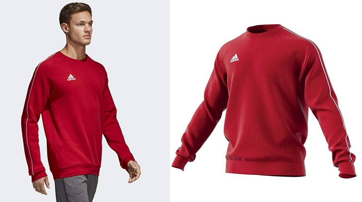 Sudadera Adidas Core18 para él desde 23,95 €