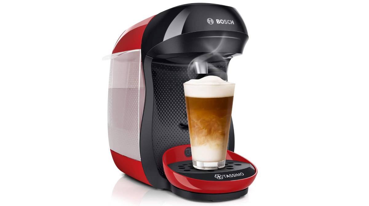 Cafetera de cápsulas Bosch Tassimo por 29 €