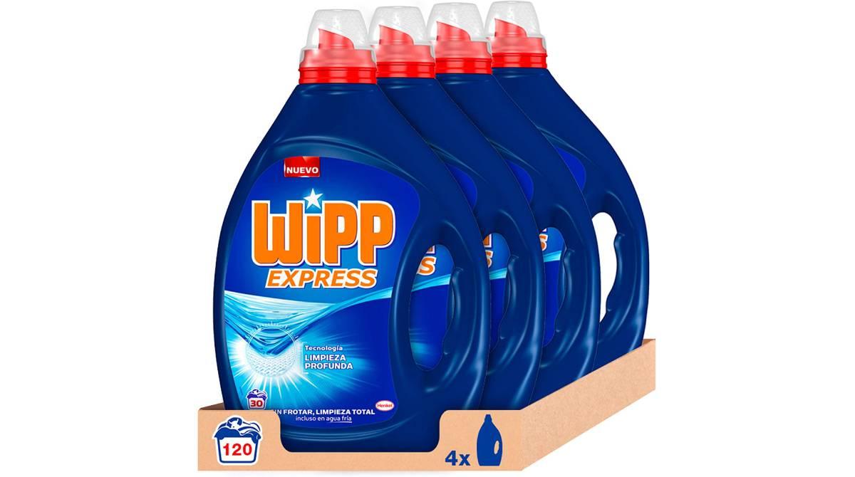 Set de cuatro detergentes Wipp Express por 23,09 €