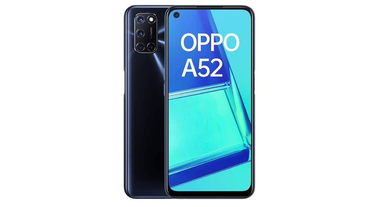 Móvil Oppo A52 con 5.000 mAh de batería por 149 €