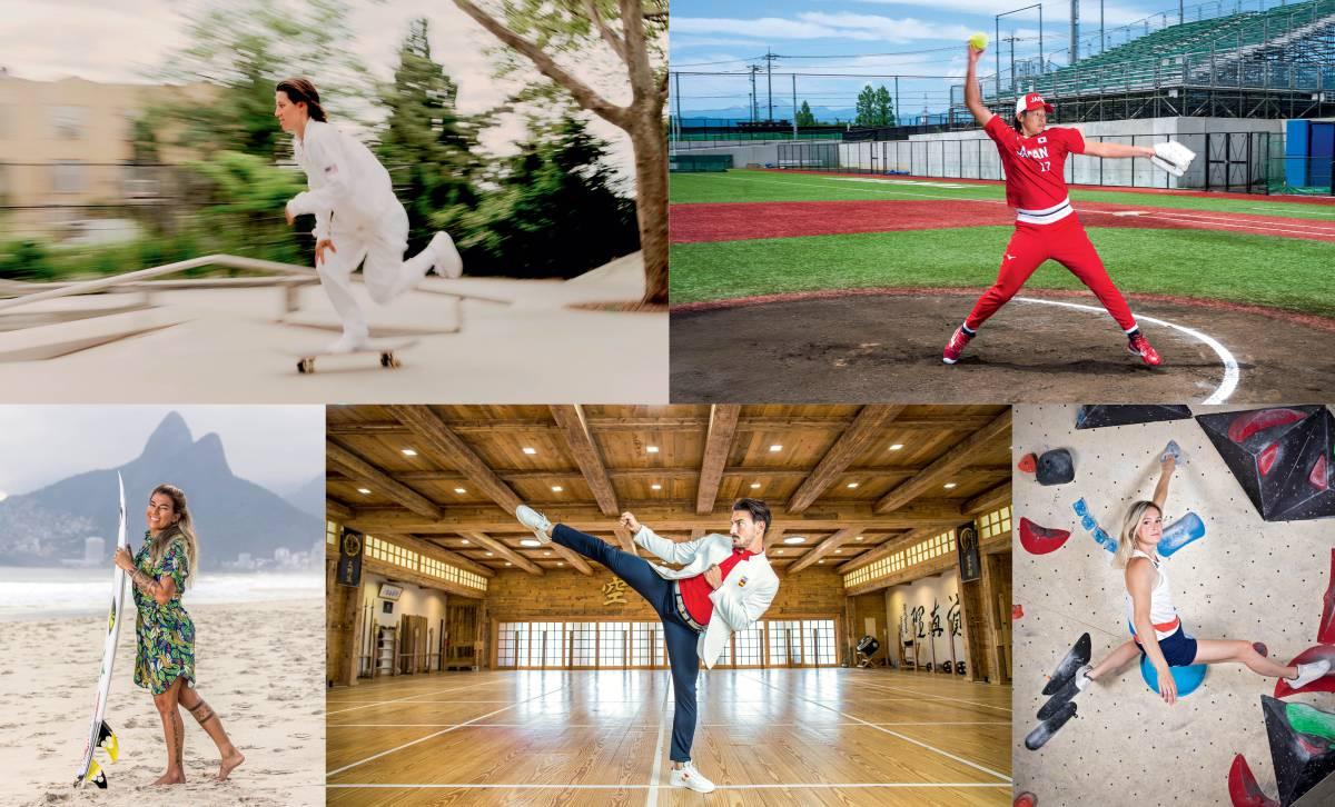 Cinco debuts Olímpicos