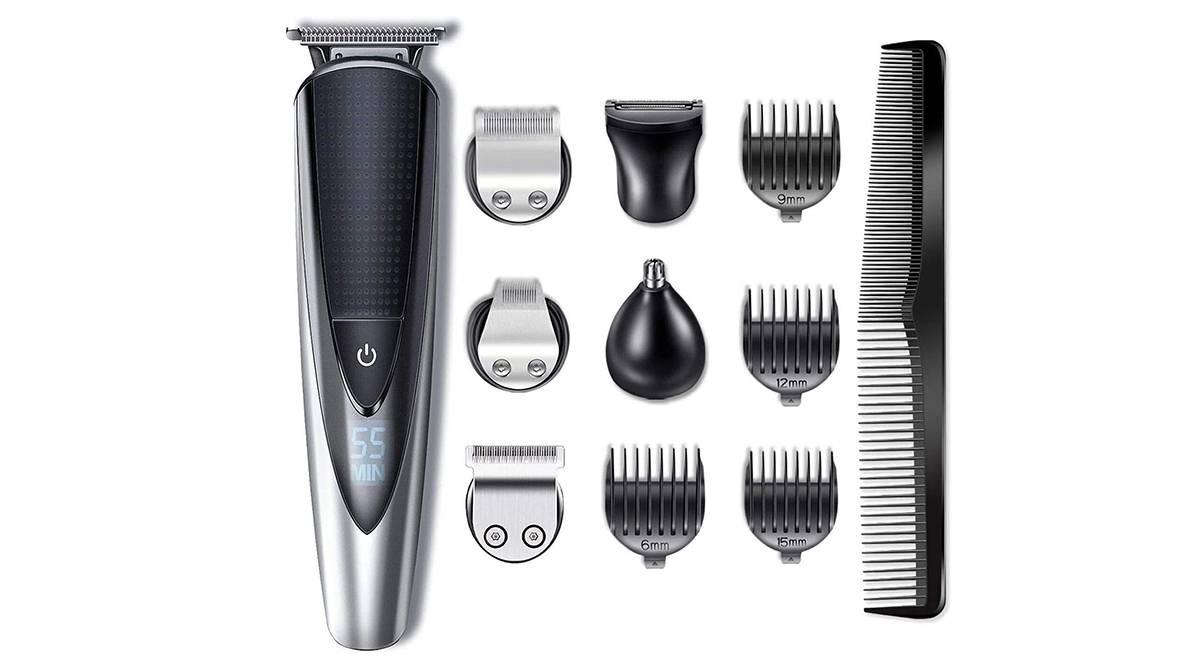 Recortadora-afeitadora recargable por 33,99 €