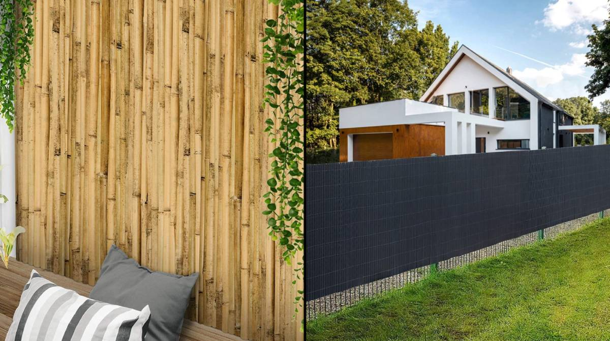 14 vallas y celosías para decorar el jardín y aislarte bien del exterior