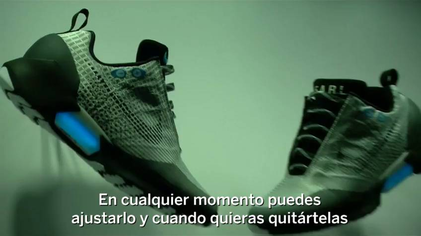 Hyper Adapt 1.0: Llegan las zapatillas de Nike que se atan