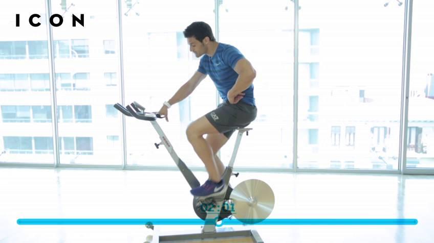 perder peso con bicicleta spinning