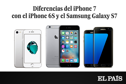 el iphone 7 diferencias iphone 7 con el iphone 6s y el samsung 10539