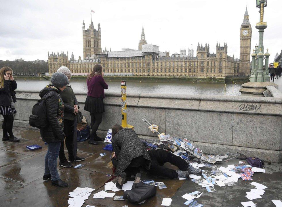 Las imágenes del agresor del atentado de Londres