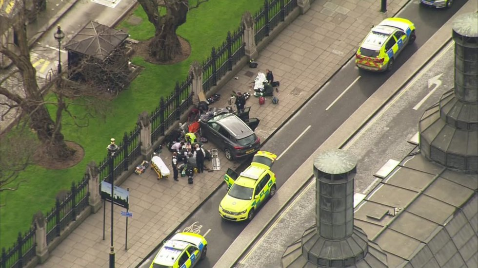 Los heridos del atentado de Londres