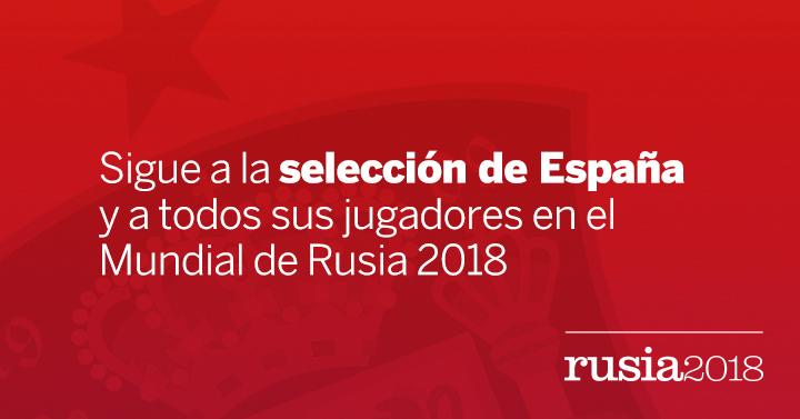 España en el Mundial Rusia 2018  fd38e207b786d
