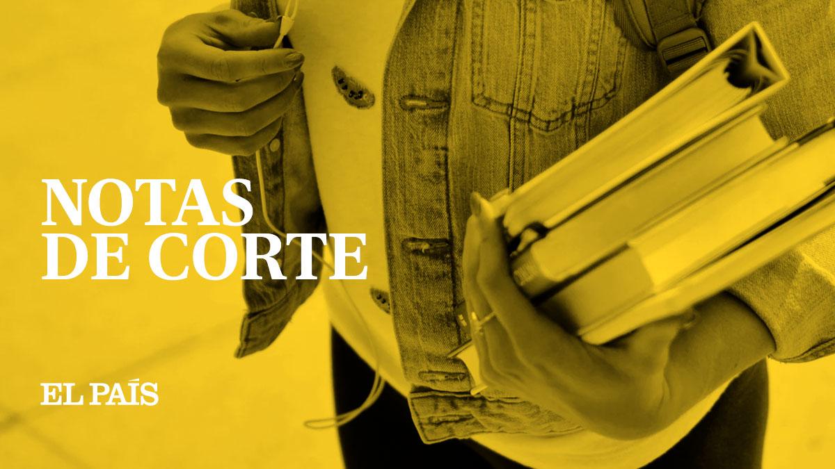 notas de acceso a la universidad en españa | el paÍs
