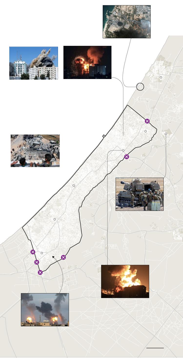 La ofensiva israelí contra Gaza, día a día | Internacional | EL PAÍS