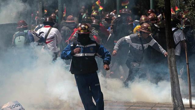 Resultado de imagen para bolivia marcha minera
