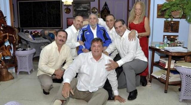 Fidel Castro se reúne con los agentes que estuvieron en prisión en EE UU    Internacional   EL PAÍS