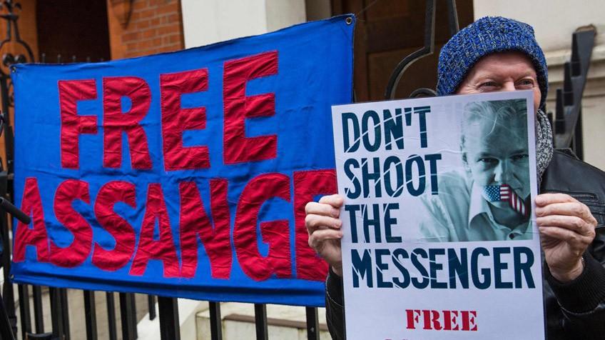 Resultado de imagen para liberar a assange