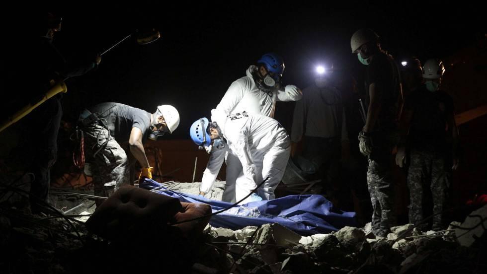ltimo sismo Un fuerte terremoto de 62 vuelve a sacudir Ecuador