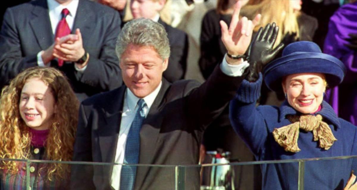 Así fue Hillary como primera dama: una inconformista