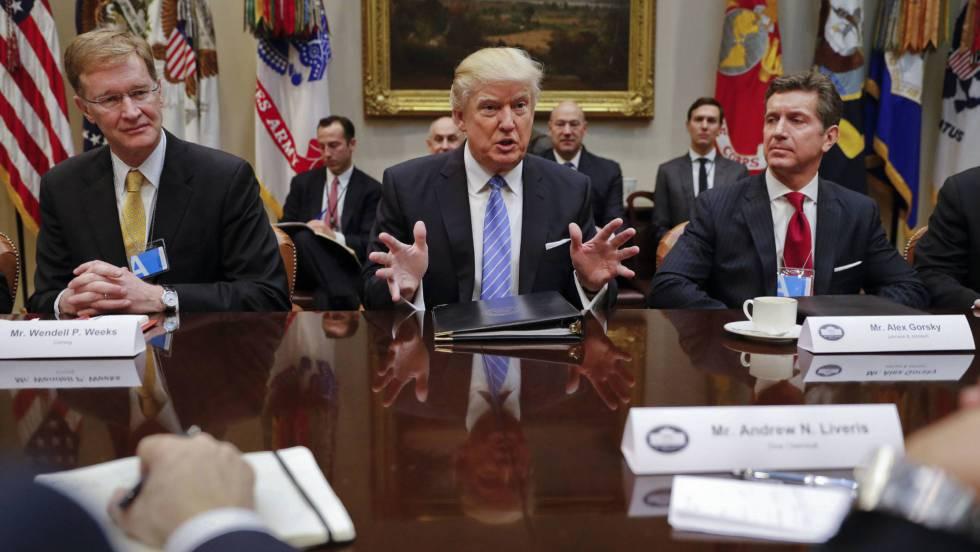 Donald Trump, este lunes en la Casa Blanca. P. M. MONSIVAIS (AP) / VÍDEO:  REUTERS-QUALITY