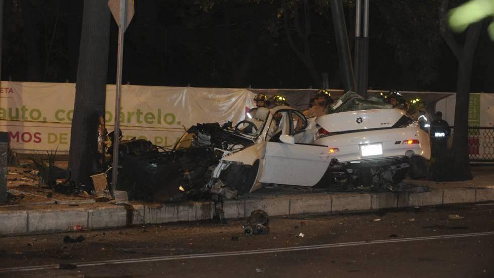 Accidente de BMW en Reforma: La noche fatal de cuatro \'mirreyes ...