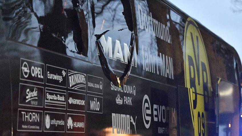 Resultado de imagen para autobus dortmund atentado
