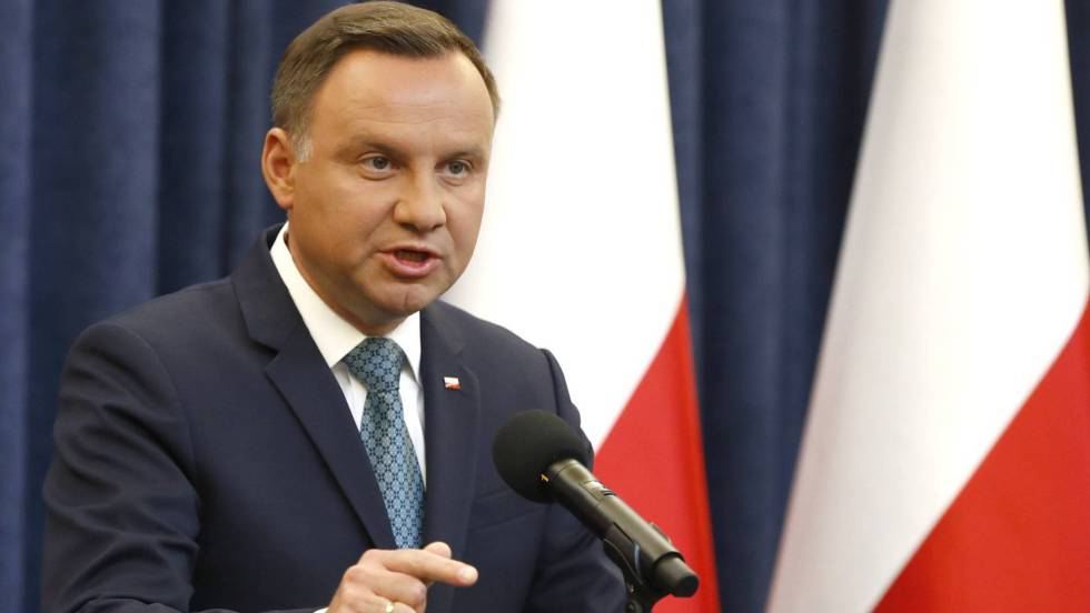 Andrzej Duda: El presidente de Polonia veta la reforma judicial ...