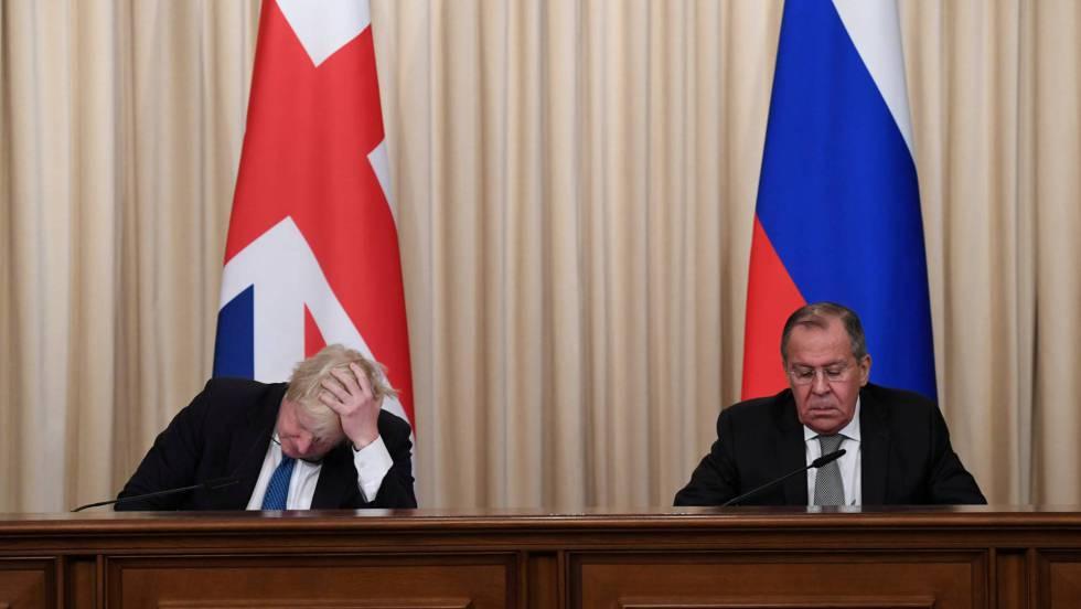 Resultado de imagen para Gran Bretaña Vs Rusia Viñetas