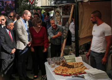 "Guillermo de Inglaterra viaja al ""país ocupado"" de Palestina"