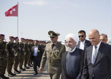 El presidente de Irán viaja a Suiza y Austria en busca de apoyos para el acuerdo nuclear