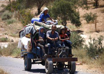 Frágil alto el fuego en el sur de Siria
