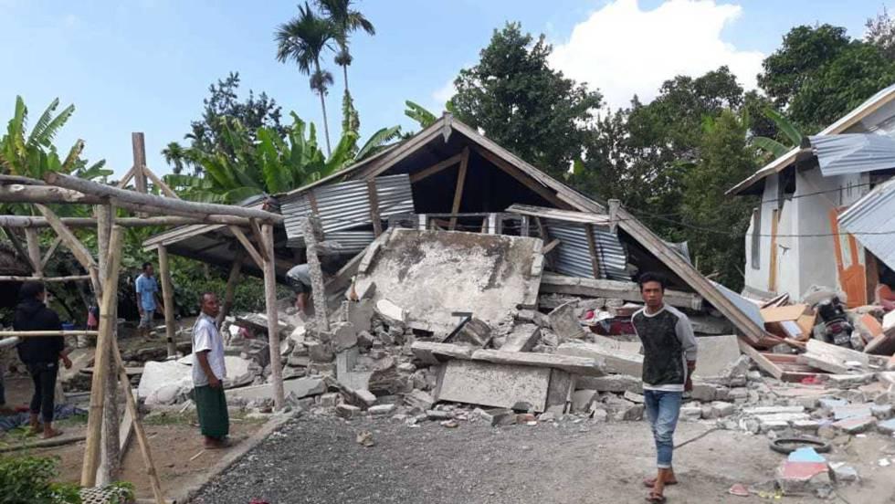 Al Menos 14 Muertos Y 162 Heridos Por Un Terremoto En La Isla De Lombok Indonesia