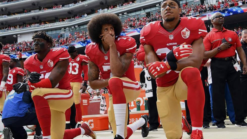 0d5e8d86c53da Colin Kaepernick  Nike ficha para un anuncio al exjugador de la NFL símbolo  de la protesta antirracista
