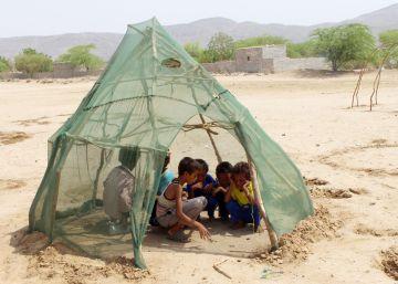 Una ONG alerta del riesgo de hambre para otro millón de niños en Yemen