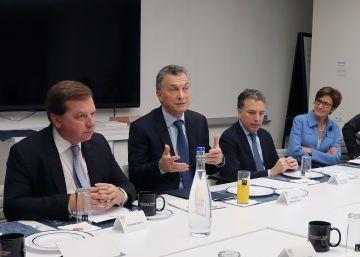 Macri pone a prueba su plan económico ante los inversores en Nueva York